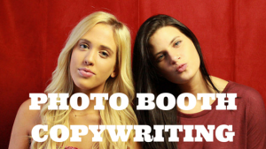photo booth copywriting