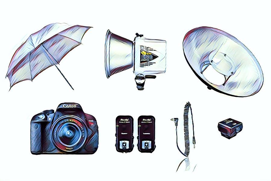 photo booth lighting